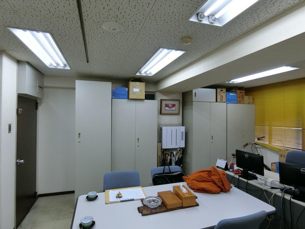 事務所改装