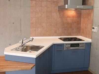 オリジナルキッチン画像