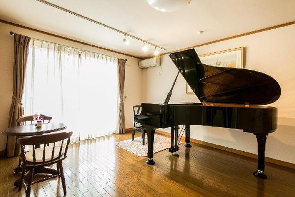 ピアノ教室インテリアエクステリア事例