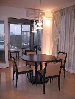 川崎市高津区・新築マンション・ダイニングルームの家具インテリア