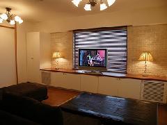 横浜市中区本牧、マンションインテリア・リフォーム・オーダー家具・AVボート(液晶テレビ台)