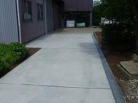 新潟市 西区 コンクリート舗装工事