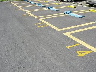 駐車場の新設工事