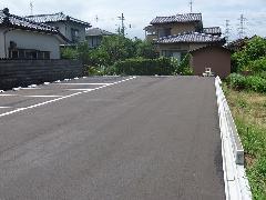 新潟県 北区 月極駐車場の新設工事