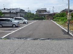 新潟県 北区 H様邸 駐車場