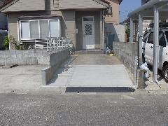 新潟市 南区 駐車場舗装