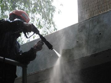 高所外壁清掃