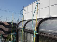 神奈川県川崎市の戸建て住宅で実施!雨漏り散水調査事例