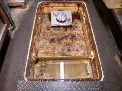 店舗床・グリストラップの清掃作業
