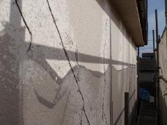 狛江市の戸建て住宅で実施!外壁改修塗装工事の作業事例�@