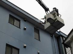 板橋区にあるマンションで実施!外壁洗浄作業事例�@