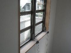 戸建て住宅で実施!高所オーニング窓ガラス・網戸清掃