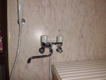 調布市 戸建 浴室水栓リフォーム