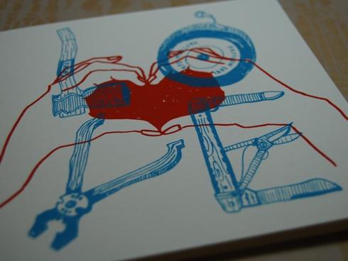 Number 62 二折りギフトカード LOVE