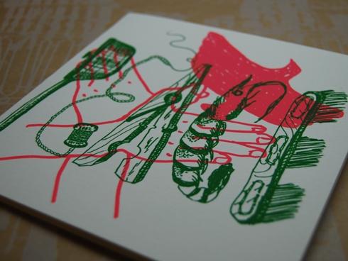 Number 62 二折りギフトカード PEACE