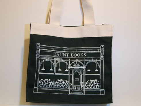 DAUNT BOOKS TOTE BAG Canvas-GR