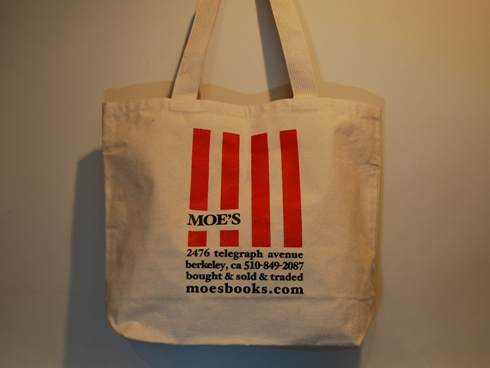 Moe's Books TOTE / RED STRIPE