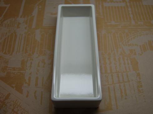 倉敷意匠 白磁の道具 ペントレイ