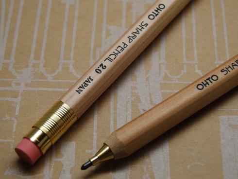 OHTO オート / 木軸シャープペンシル 2.0mm