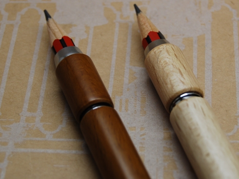 東京スライダ / 木製補助軸 貫通型 / 鉛筆付
