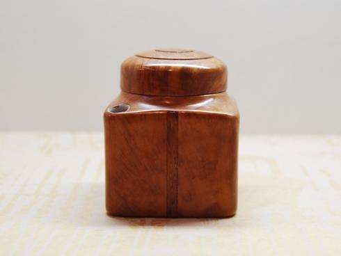 Reden's PARIS / 木製インク壺 ライトブラウン