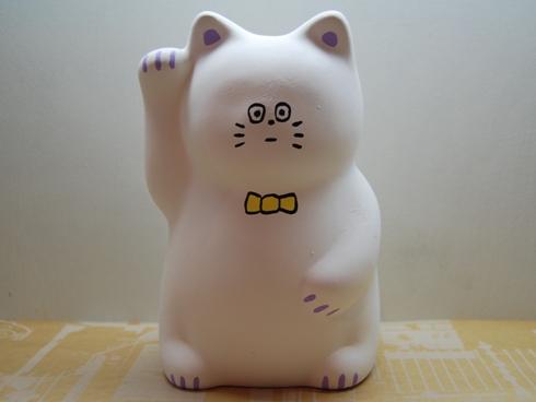 イラストレーター 松岡マサタカ / 招き猫 貯金箱 B