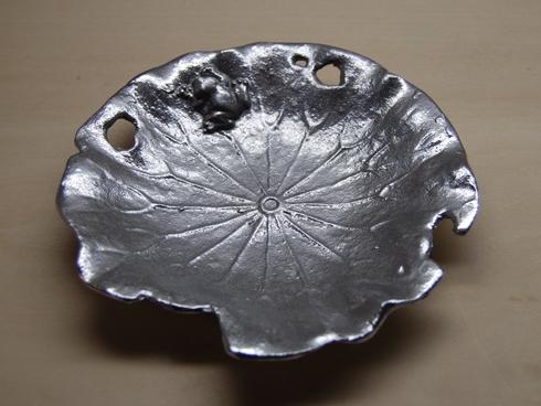 博鳳堂 炭谷三郎商店 / Lotus Leaf Plate シルバー