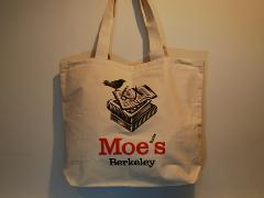 Moe's Books TOTE / BLACK BIRD