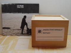 MEDICINAL WOODEN BOX / L size