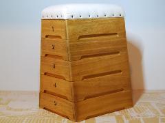 跳び箱収納 小物入れ / 積上げタイプ 5段