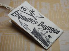OLDMAN PRESS / Etiquettes Bagages タグシート
