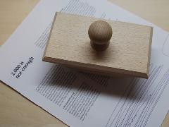 Ehmann イーマン / 木製ブロッター 【独絶版】