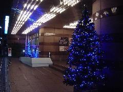 クリスマスイルミネーション装飾