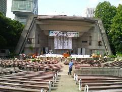 吊り看板・スローガン 場所 東京日比谷