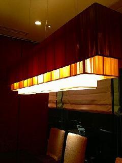 飲食店様の照明�A