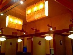 飲食店様の照明�B