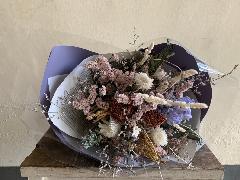 ドライフラワー花束83
