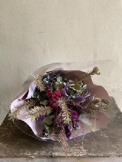 ドライフラワー花束111