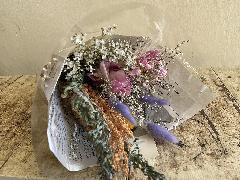 ドライフラワー花束 natural