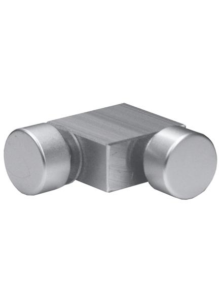 化粧ビス付/コーナー用(穴をあけたボードとボードを直角に接続する金具)ケース(12個入)