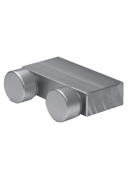 化粧ビス付/平面用(穴をあけたボードとボードを平面に接続する金具)