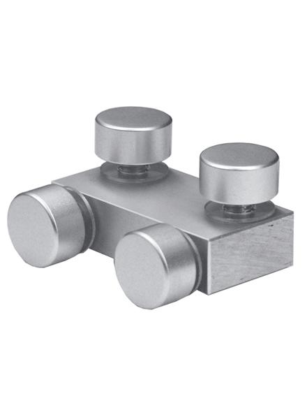 化粧ビス付/4面用(穴をあけたボードとボードを4面接続する金具)