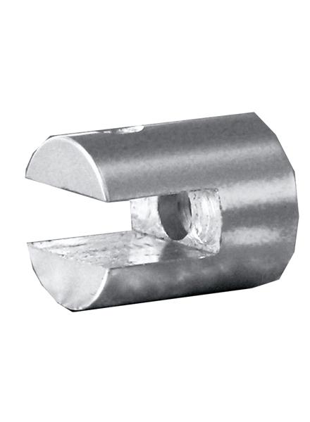 壁面直付けタイプ/丸20mm(壁面にボードを直角に取り付ける金具)