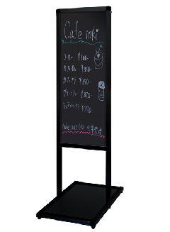 ブラックバリウスメッセージスタンド ブラックボードタイプ B2縦