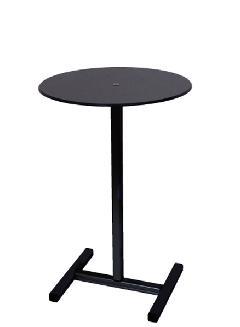 ブラックスマートテーブルH620