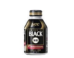 【2ケースで送料無料】UCC ブラック無糖 プラチナアロマ 185g24本入