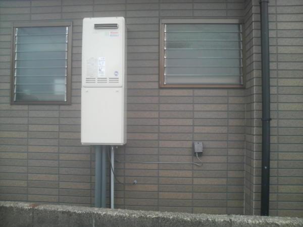 給湯器設置工事 福井市米松 N様邸