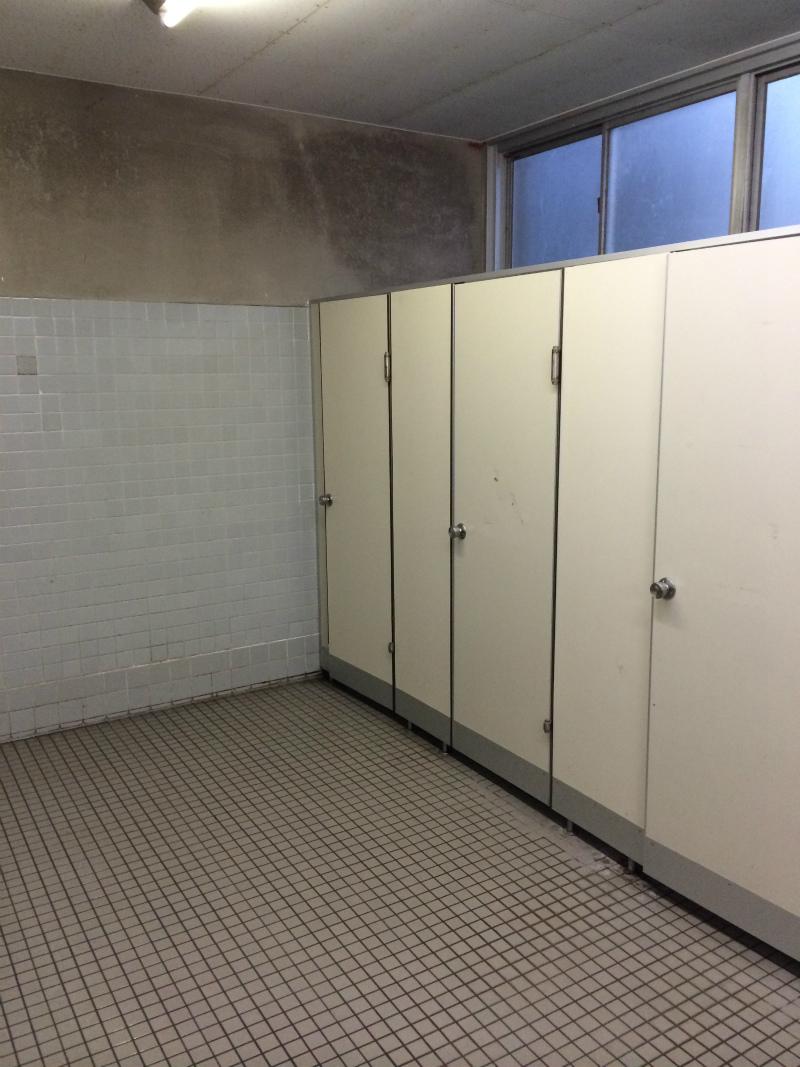 トイレ改修工事 福井市 F高校様
