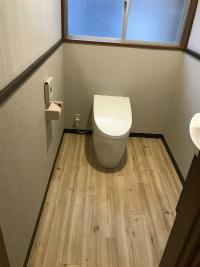 トイレ改修工事 福井市 K様邸