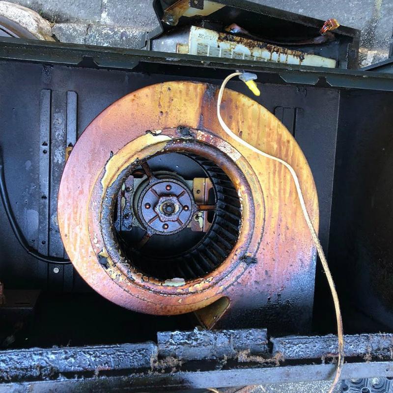 換気扇、ガスコンロの取替え工事